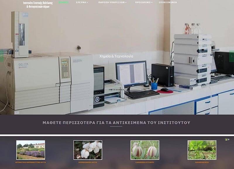 Ιστοσελίδα Ινστιτούτο ΓΒΦΠ